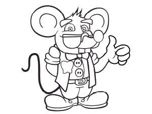 Descarga dibujos para colorear del Ratoncito Prez