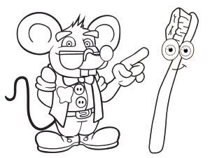 Descarga dibujos para colorear del Ratoncito Pérez