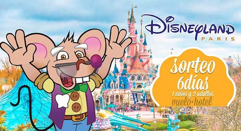 viaja a DisneyLand París gracias al Ratoncito Pérez