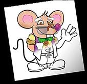 Dibujos para colorear del Ratoncito Pérez
