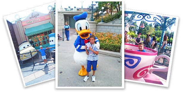 Fotos del ganador del sorteo a Disney del Ratoncito Pérez