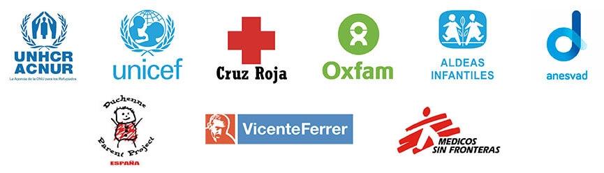 Las asociaciones con las que el Ratoncito Pérez colabora