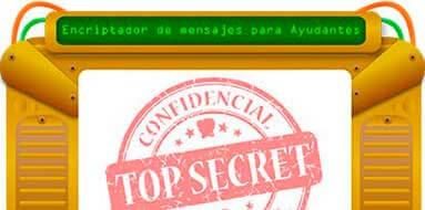 Encriptador de Códigos Secretos para mensajes descifrados del Ratoncito Pérez.