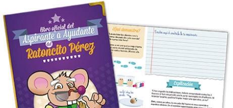 El libro Oficial de Aspirante a Ayudante del Ratoncito Pérez que se reparte en los Colegios