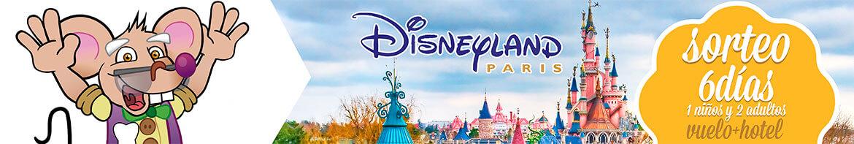Sorteo a Disney del Club Ratoncito Pérez para acceder a la información y participar.