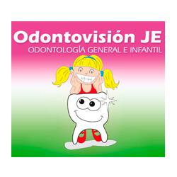 Logo Clínica Odontovisión. JE