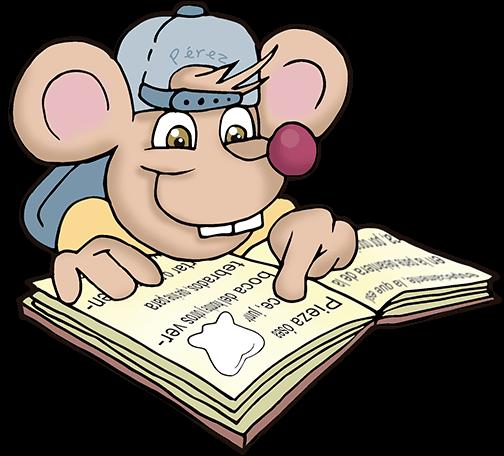 Ratoncito Pérez leyendo